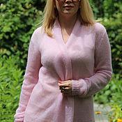 """Одежда ручной работы. Ярмарка Мастеров - ручная работа Кардиган """"Розовое облако"""". Handmade."""