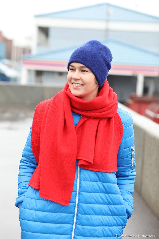 Шапка вязаная двухслойная Лучшая подруга зимняя, Шапки, Москва,  Фото №1