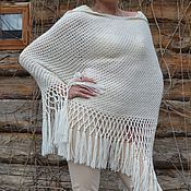 Одежда handmade. Livemaster - original item Poncho Dreams handmade wool blend. Handmade.