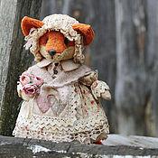 Куклы и игрушки ручной работы. Ярмарка Мастеров - ручная работа Лиса.. Handmade.