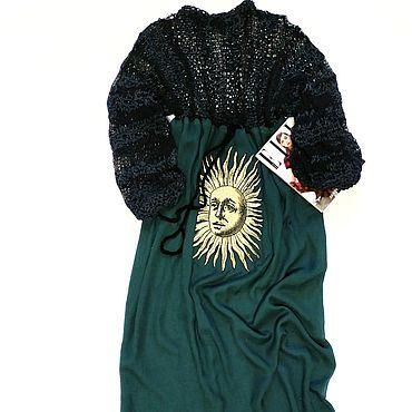 """Одежда ручной работы. Ярмарка Мастеров - ручная работа Платье в стиле бохо """"Лесная нифа"""". Handmade."""