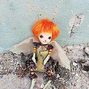 Куклы и пупсы ручной работы. Ярмарка Мастеров - ручная работа Авторская кукла из серии Букашки. Handmade.