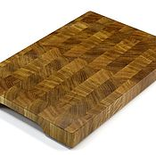 Для дома и интерьера handmade. Livemaster - original item End cutting Board №120. Handmade.