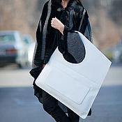Сумки и аксессуары handmade. Livemaster - original item White bag, Women`s leather bag - BA0862LD. Handmade.