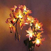 Table lamps handmade. Livemaster - original item Table lamp: Bouquet lamp