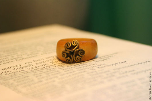 Кольца ручной работы. Ярмарка Мастеров - ручная работа. Купить Перстень 3. Handmade. Подарок девушке, подарок на годовщину, береза