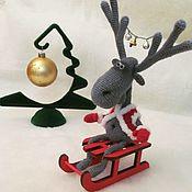 Куклы и игрушки ручной работы. Ярмарка Мастеров - ручная работа Лосик Иосик. Handmade.