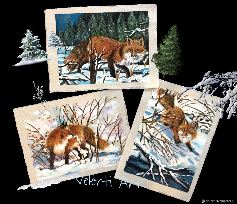 Набор: «Forest Fox», Аппликации, Краснодар,  Фото №1