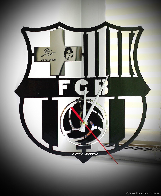Настенные часы ФК Барселона / Barcelona, Часы классические, Красноярск,  Фото №1