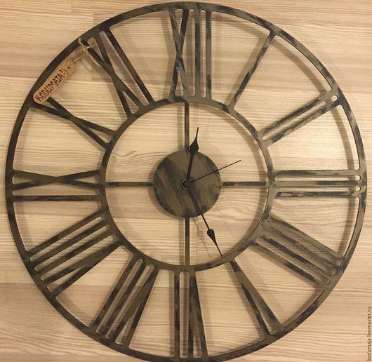 """Часы для дома ручной работы. Ярмарка Мастеров - ручная работа. Купить Часы 50см """"с патиной"""" """"Rooma"""". Handmade. Бронза"""