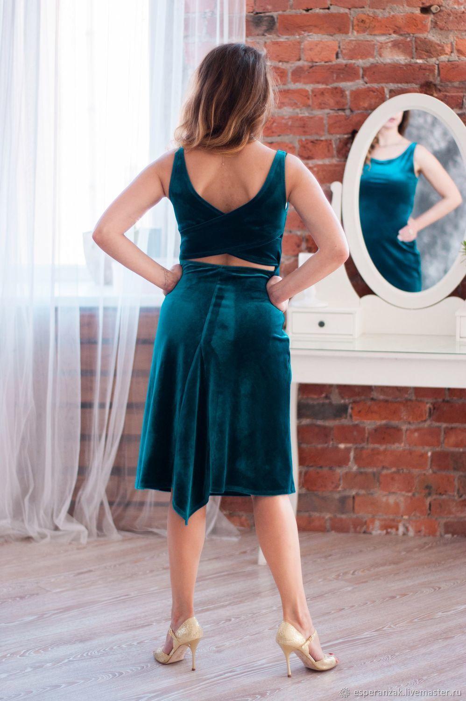 Tango Dress Turquoise, Dresses, St. Petersburg,  Фото №1