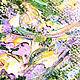 """Фантазийные сюжеты ручной работы. Картина """"Легенда о Единороге"""" (холст, масло). ЯРКИЕ КАРТИНЫ Наталии Ширяевой. Ярмарка Мастеров. Голубой"""