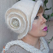 Аксессуары handmade. Livemaster - original item Hat with scarf