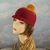 """Аксессуары handmade. Livemaster - original item wool  hat """"British holidays"""". Handmade."""