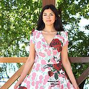 """Одежда ручной работы. Ярмарка Мастеров - ручная работа Авторское платье""""Рози"""". Handmade."""