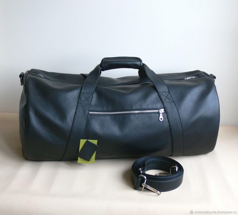 b52ada2cac67 Спортивная сумка кожаная круглая. Габариты сумки  высота и ширина 30 см,  длина 60 ...