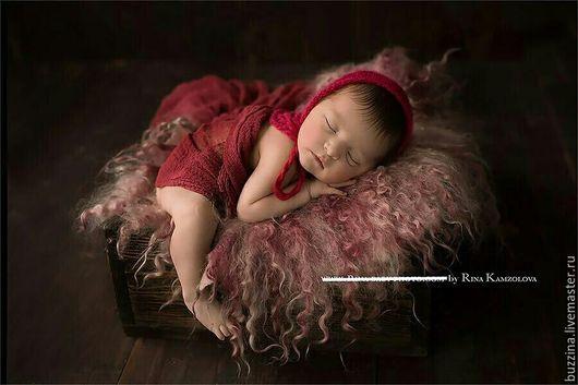 Для новорожденных, ручной работы. Ярмарка Мастеров - ручная работа. Купить Марлевая обмотка для фотосессии новорожденных. Handmade. Реквизит, фотореквизит