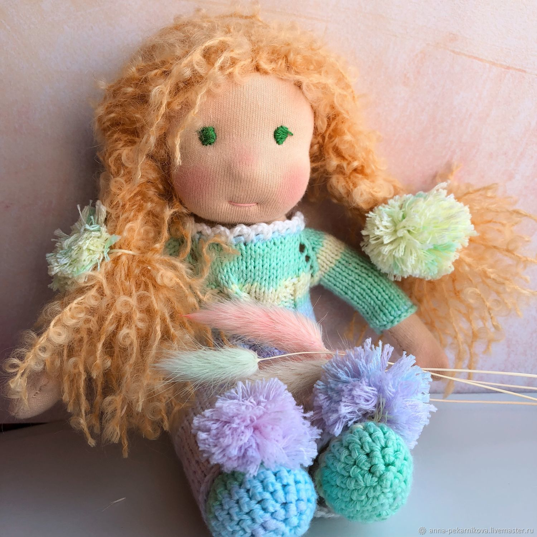 Вальдорфская игрушка ручной работы. Ярмарка Мастеров - ручная работа. Купить Вальдорфская кукла Мария 20 см. Handmade.