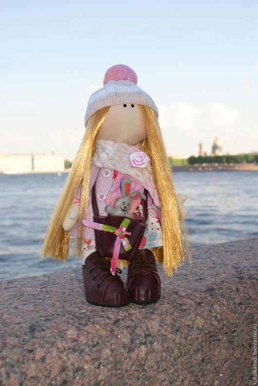 Коллекционные куклы ручной работы. Ярмарка Мастеров - ручная работа. Купить Текстильная кукла. Handmade. Комбинированный, кукла в подарок