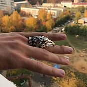 Винтаж handmade. Livemaster - original item Vintage men`s ring,