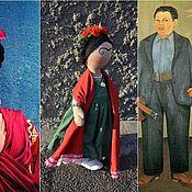 Куклы и игрушки ручной работы. Ярмарка Мастеров - ручная работа Вспоминая Фриду. Handmade.