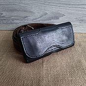 Сумки и аксессуары handmade. Livemaster - original item Case holster for smartphone. Handmade.
