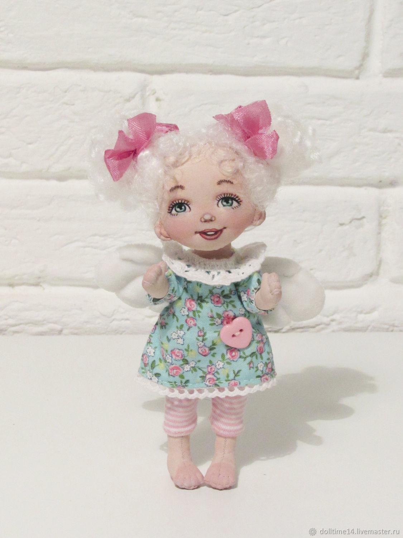 Текстильная кукла Милый ангел, Куклы и пупсы, Трехгорный,  Фото №1
