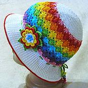 Работы для детей, ручной работы. Ярмарка Мастеров - ручная работа Панама-шляпка Perenni Лето. Handmade.