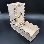 Фишки и кости ручной работы. Ярмарка Мастеров - ручная работа Башня для кубиков Дракар (dice tower). Handmade.