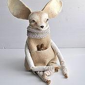 Куклы и игрушки ручной работы. Ярмарка Мастеров - ручная работа Фенек Рунки интерьерная кукла. Handmade.