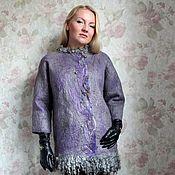 "Одежда ручной работы. Ярмарка Мастеров - ручная работа Авторская валяная куртка ""silver moon"". Handmade."