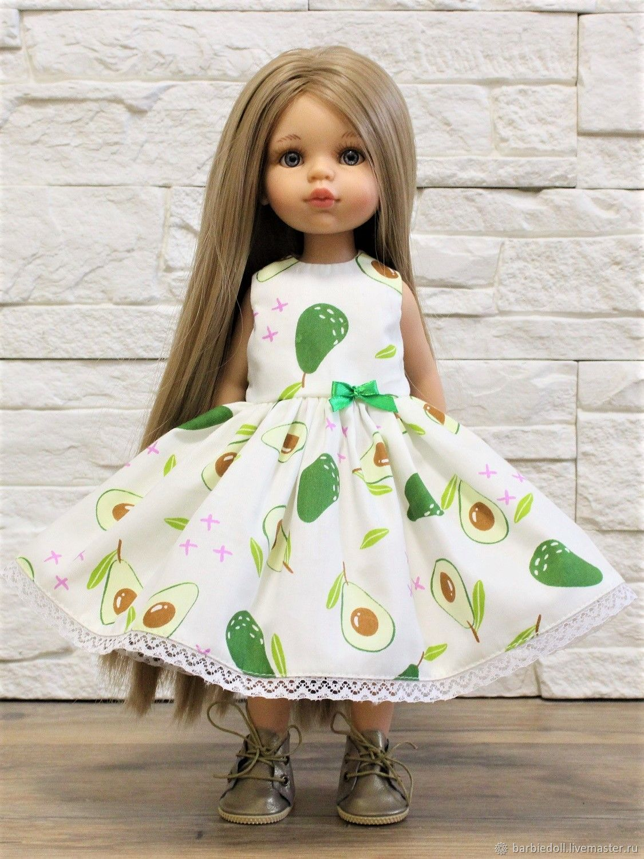 Одежда для куклы Паола Рейна, платье из хлопка, Одежда для кукол, Санкт-Петербург,  Фото №1