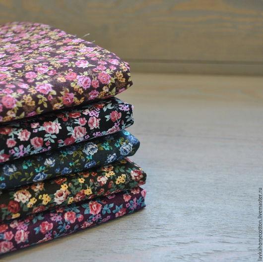 Шитье ручной работы. Ярмарка Мастеров - ручная работа. Купить Хлопок отрез 50х50 см 5 цветов. Handmade. Хлопок