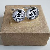 Украшения handmade. Livemaster - original item Cufflinks silver plated James Bond. Handmade.
