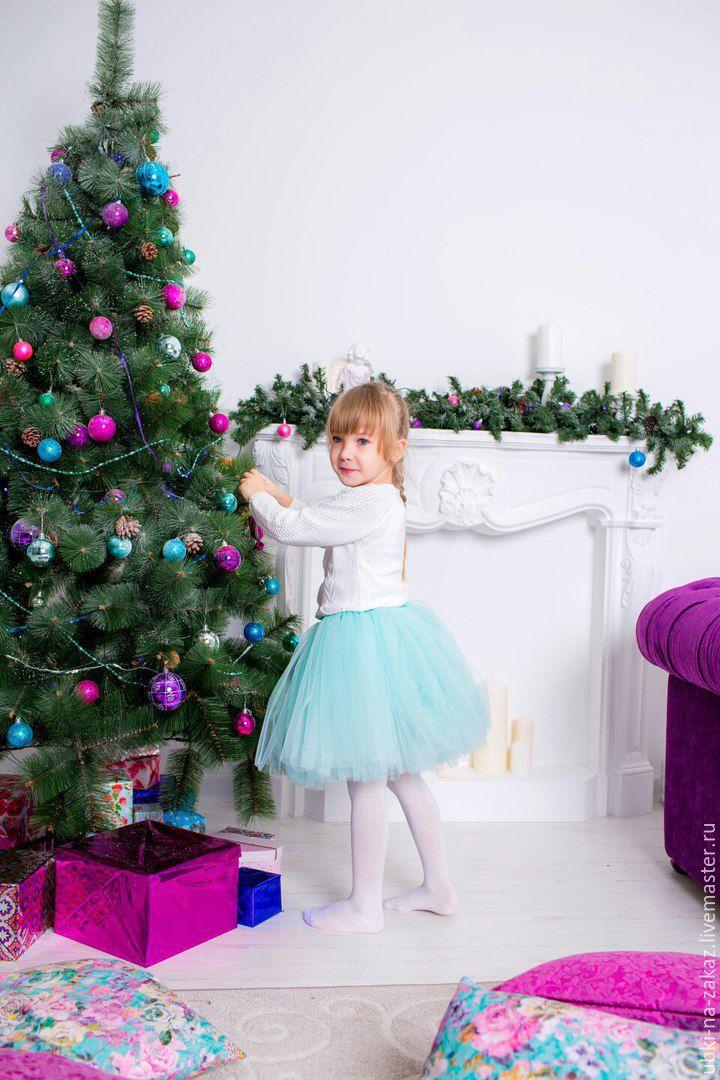 Многослойная юбка-шопенка для девочки, Юбки, Набережные Челны,  Фото №1