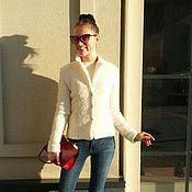 """Одежда ручной работы. Ярмарка Мастеров - ручная работа Пиджак из шерсти """"Jennifer"""". Handmade."""