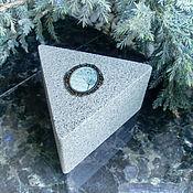 Для дома и интерьера handmade. Livemaster - original item The box is triangular. Handmade.