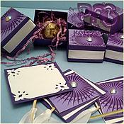 Подарки к праздникам ручной работы. Ярмарка Мастеров - ручная работа Лиловое сияние любви - атрибуты для девичника. Handmade.