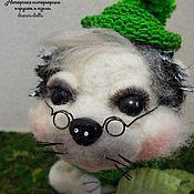 Куклы и игрушки ручной работы. Ярмарка Мастеров - ручная работа Счастливый Ёжик. Handmade.