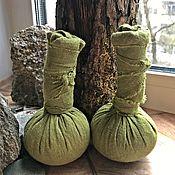Ритуальная атрибутика ручной работы. Ярмарка Мастеров - ручная работа Травяные мешочки для массажа и правки тела + подарок. Handmade.
