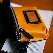 Сумки и аксессуары handmade. Livemaster - original item Yellow Druid waist bag. Handmade.