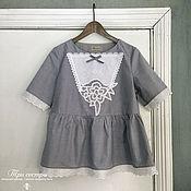 """Одежда ручной работы. Ярмарка Мастеров - ручная работа Блуза """"Грозовой перевал"""". Handmade."""