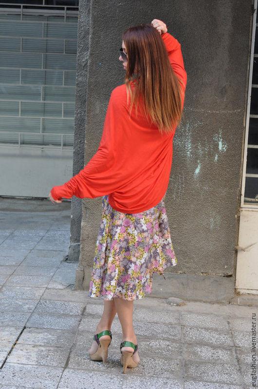 Яркое болеро. Оригинальное болеро. Модная одежда.