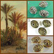Материалы для творчества handmade. Livemaster - original item Separation beads Openwork for jewelry. Handmade.