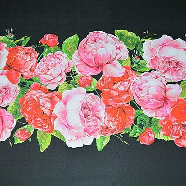 Материалы для творчества ручной работы. Ярмарка Мастеров - ручная работа Шелк Dolce&Gabbana. Handmade.