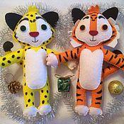 Куклы и игрушки ручной работы. Ярмарка Мастеров - ручная работа Лео и Тиг. Handmade.