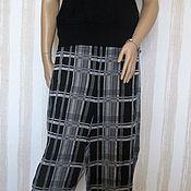 Одежда handmade. Livemaster - original item Pants plaid. Handmade.