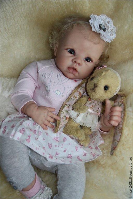 Куклы-младенцы и reborn ручной работы. Ярмарка Мастеров - ручная работа. Купить Кукла реборн Криста-2.. Handmade.