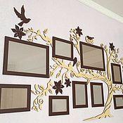 Фоторамки ручной работы. Ярмарка Мастеров - ручная работа Семейное дерево. Handmade.