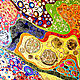 Set of bright abstract paintings Colorful kaleidoscope. Pictures. House of Sun. Artist Irina Bast. My Livemaster. Фото №4